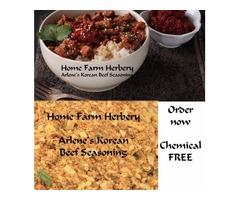 FREE recipe included when you order Arlene's Korean Beef Seasoning
