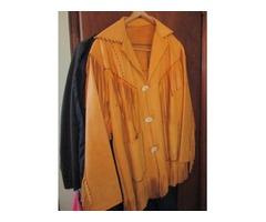 Men's leather coat LG