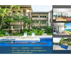 Kauai Oceanfront Condo Rentals