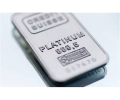*** Platinum Bullion Bars, Platinum Bar - Valcambi Suisse ***