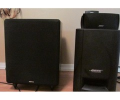 BOSE HOME THEATER SYSTEM NXG SUBWOOFER
