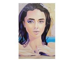 Re-Created Girl in Pool by Robert S. Lee