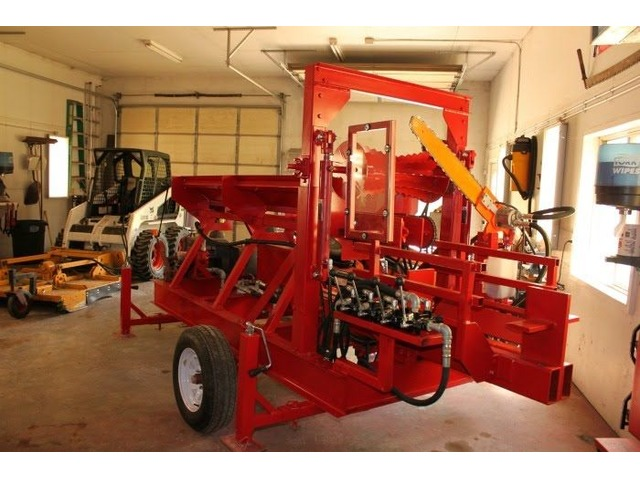 Wolverine A-14-22 Processor for sale with a 14 HP engine