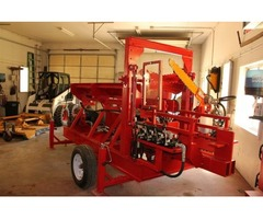 Wolverine A-14-22 Processor for sale with a 14 HP engine running a 2 stage hydraulic pump