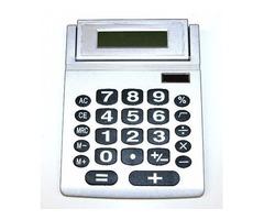Calculator, Jumbo - Solar Powered - NEW