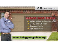 Garage Door Repair Irving TX – (972) 999-9322 – Expert and Reliable Service