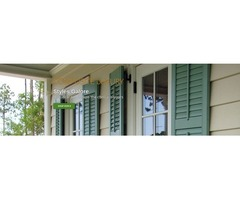 Buy top quality window shutters at Decorative Shutters