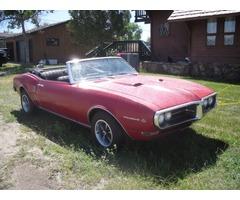 1968 Pontiac Firebird Convertable