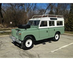 1965 Land Rover Series IIA 109 109