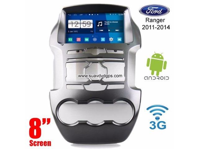 Ford Ranger Android Car Radio WIFI 3G DVD GPS navigation camera