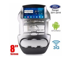 Ford Ranger Android Car Radio WIFI 3G DVD GPS navigation camera