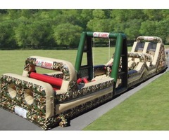 BOOT CAMP OBSTACLE COURSE FOR RENT! SCHOOLS CARNIVALS