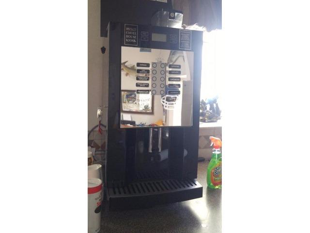 coffee maker kiosk