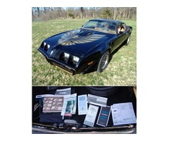 1979 Pontiac Trans Am AC, 8 Track WORKS! PS, PB's, T-Tops