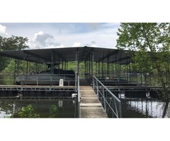 Lake Front Property With Boat Dock!