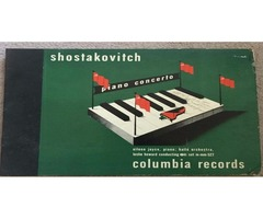 Columbia Record Shostakovitch Piano Concert