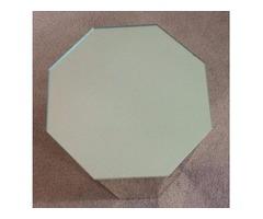octagon mirrored pedestal