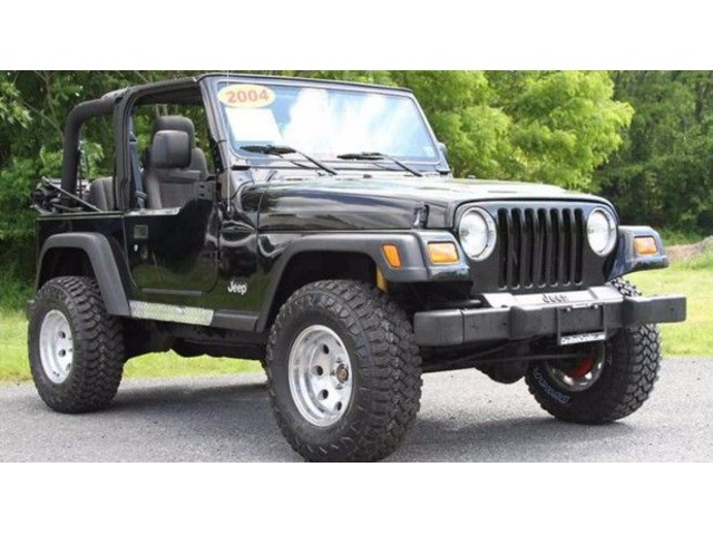 2004 JEEP WRANGLER X Lifted!! 59k Original Miles