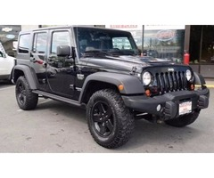 2012 Jeep Wrangler Unlimited 4x4 Call of Duty MW3 4dr SUV