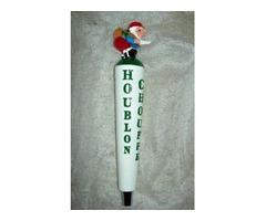 La Chouffe Houblon Figural Tap Handle NIB Gnome Hard to Find