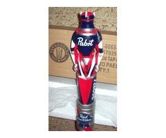 Pabst PBR Kegatron Art Figural Beer Tap Handle Robot NIB 11.5