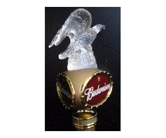 Budweiser Bud Millennium Eagle 1999 Beer Tap Handle NOS Original Box