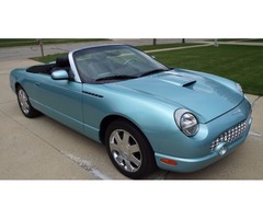 2002 Ford Thunderbird Premium With Removable Hard-Top