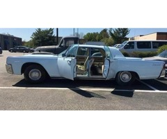 1962 Lincoln Continental with Suicide Doors