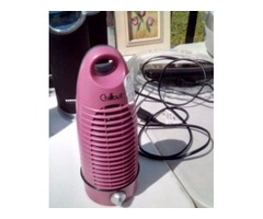 Chillout 2-Speed Mini Tower Fan - Pink/Black