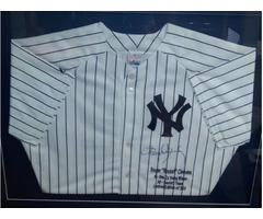 ROGER CLEMENS SIGNED JERSEY
