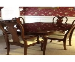 Thomasville Collectors Cherry Dining Room Set (MINT)