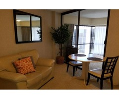 Executive Centre Condo (1 Bed, 1 Bath, Kitchenette) Furnished