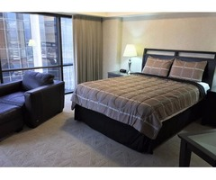 Executive Centre Condo (1 Bed,1 Bath, Kitchenette) Furnished