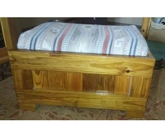 Solid Wood Foot Rest