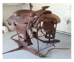 saddles/tack/etc