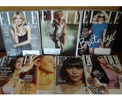 ELLE Magazines: 7 fashion issues for $20