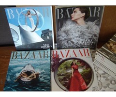 4 HARPER'S BAZAAR Special Fashion Issues for $10.00