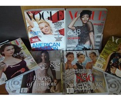 VOGUE: 4 Special Fashion Issues & 2 regular issues. $10