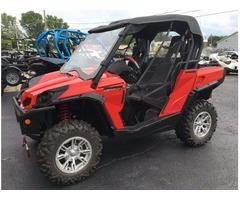 LOADED 2011 Can-Am Commander XT 1000 in Viper Red