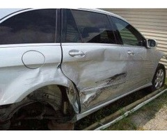 2008 mercedes r350 silver color for parts
