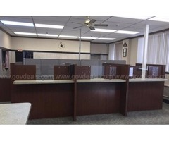 Teller Stations, Receptionist Counter