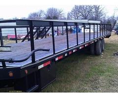 40 ft Trailmaster gooseneck trailer