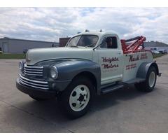 1948 Nash Tow Truck