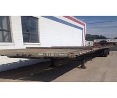 49' semi flatbed trailer