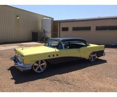 1955 Buick Special accuair air ride chevy bel air bagged rat rod patina cadillac