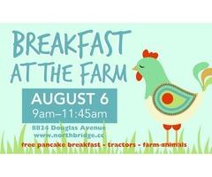 Breakfast At The Farm | free-classifieds-usa.com