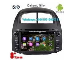Daihatsu Sirion Car audio radio update android GPS navigation camera
