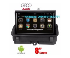Audi Q3 Car audio radio update android GPS navigation camera
