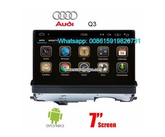 Audi A3 Car audio radio update android GPS navigation camera