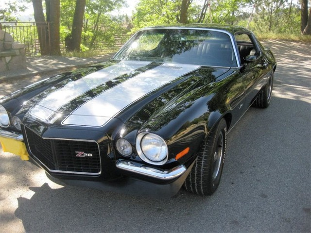 1970 Chevrolet Camaro Z28 Rs Classic Cars San